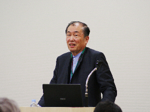 埼玉県環境科学国際センター総長、NPO環境生態工学研究所理事長 須藤隆一